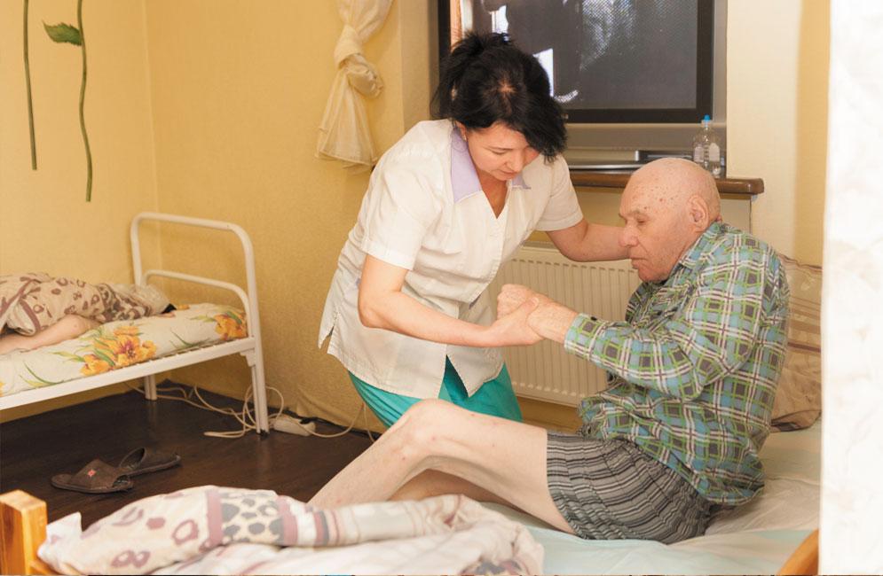 Уход за людьми с рассеянным склерозом