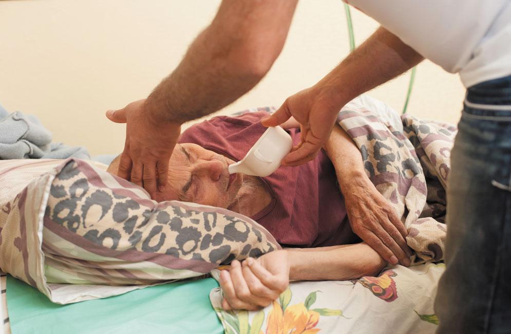 Медицинский патронаж пожилых